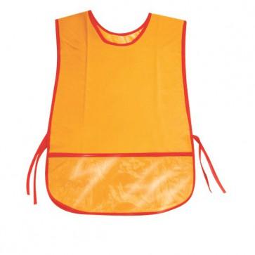 Grembiulini per bambini DECO - Senza maniche - 50x34 cm - arancione - 06962