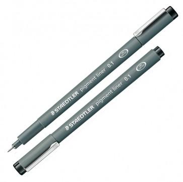 Pennarello Pigment Liner 308 - nero - 0,1mm - Staedtler