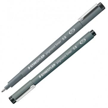 Pennarello Pigment Liner 308 - nero - 0,8mm - Staedtler