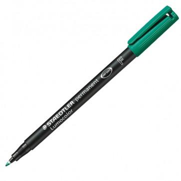 Pennarello Lumocolor Permanent 318 - punta 0,6mm - verde  - Staedtler