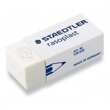 Gomma Rasoplast - 43x19x13mm - bianca per matita - Staedtler