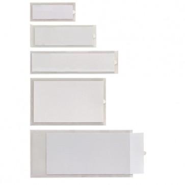 Portaetichette adesivo Iesti A4 - 65x140 mm - trasparente - Sei Rota - conf. 10 pezzi