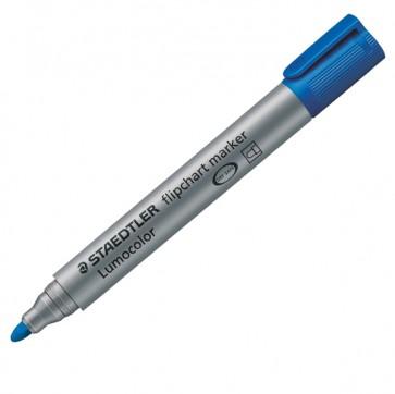 Marcatore a base d'acqua Lumocolor Flipchart 356 - punta tonda 2,0mm - blu - Staedtler