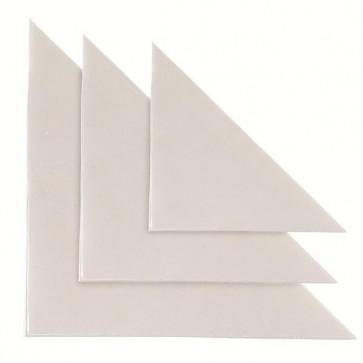 Busta autoadesiva triangolare TR 13 - PVC - 13x13 cm - trasparente - Sei Rota - conf. 10 pezzi