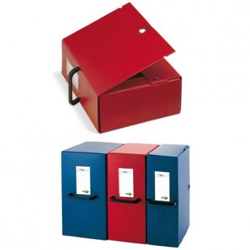 Scatola archivio Big - con maniglia - dorso 20 cm - 25x35 cm - rosso - Sei Rota