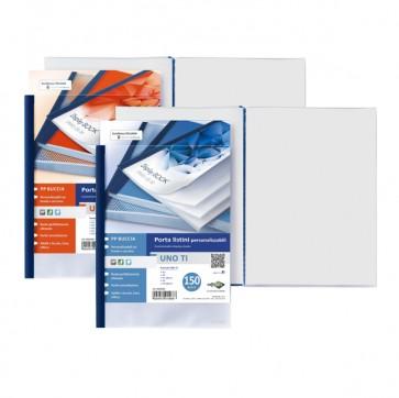 Portalistini personalizzabile Uno TI - 22x30 cm - 120 buste - blu - Sei Rota