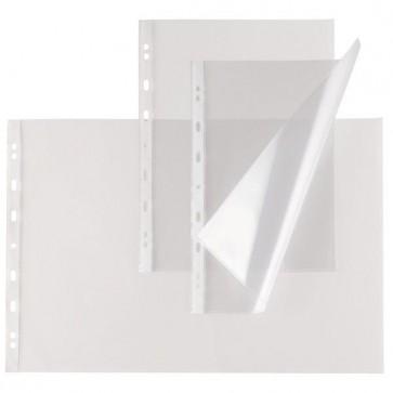 Buste forate Atla T - pesante - liscio - 35x50 cm - trasparente - Sei Rota - conf. 10 pezzi