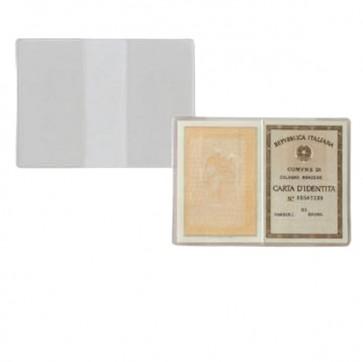 Porta Carta Identità - PVC - 15,5x11 cm - trasparente - Sei Rota - conf. 100 pezzi