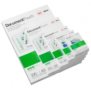 Pouches - A4 - 216x303 mm - 2x125 micron - GBC - scatola 100 pezzi