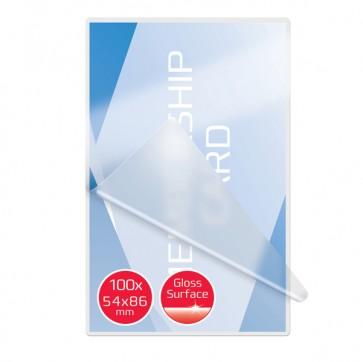 Pouches per plastificazione - credit card - 54x86 mm - 2x250 micron - GBC - scatola 100 pezzi