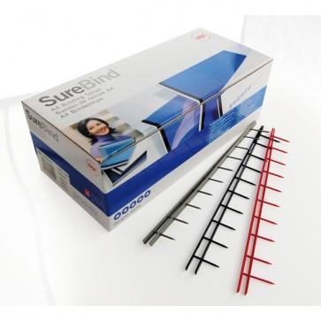 Pettini Surebind - 10 denti - 25 mm - blu - GBC - scatola 100 pezzi