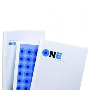 Cartelline termiche Optimal - 1,5 mm - bianco - GBC - scatola 100 pezzi