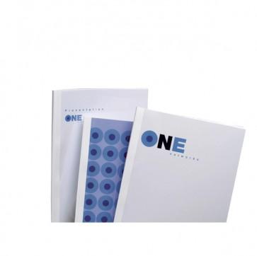 Cartelline termiche Optimal - 9 mm - bianco - GBC - scatola 100 pezzi