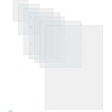 Pouches - luggage card con asola sul lato corto - 64x108 mm - 2x125 micron - GBC - scatola 100 pezzi