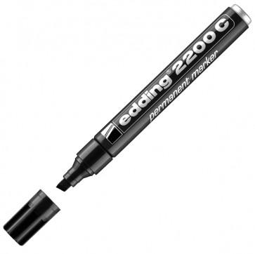 Marcatore Edding 2200c - punta a scalpello da 1,5mm a 5,0mm - nero - Edding