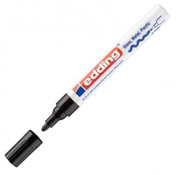 Marcatore permanente a vernice 750 - punta da 2,0 a 4,0mm - nero - Edding