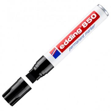 Marcatore permanente Edding 850 - punta da 5,0-16,0mm - nero - Edding
