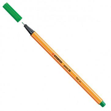Fineliner Point 88 - verde - punta 0,4mm - Stabilo