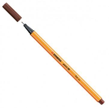 Fineliner Point 88 - marrone - punta 0,4mm - Stabilo