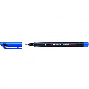Pennarello OHPen universal permanente 841 - punta superfine 0,4mm - blu  - Stabilo