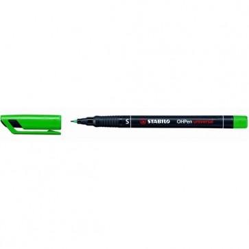 Pennarello OHPen universal permanente 841  - punta superfine 0,4mm - verde - Stabilo