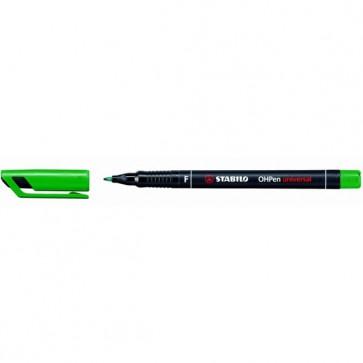 Pennarello OHPen universal permanente 842  - punta fine 0,7mm - verde - Stabilo