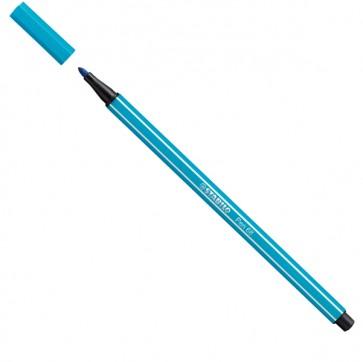 Pennarello Pen 68 - punta 1,00mm - blu chiaro  - Stabilo - conf. 10 pezzi