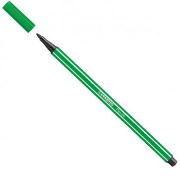 Pennarello Pen 68 - punta 1,00mm - verde smeraldo  - Stabilo - conf. 10 pezzi