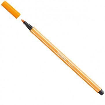Pennarello Pen 68  - punta 1,00mm - arancio - Stabilo - conf. 10 pezzi