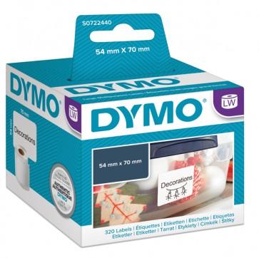 Rotolo 320 etichette LW 990150 - 54x 70 mm - bianco - Dymo
