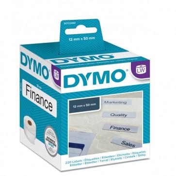 Rotolo 220 etichette LW 990170 - 50x12 mm - cartelle sospese - bianco - Dymo