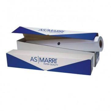 Carta Inkjet plotter J.90S - 625 mm x 50 mt - 90 gr - opaca - bianco - As Marri