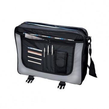 Borsa tascapane Wave Lightpak - 46 x35 x12 cm - nero/grigio - 46069