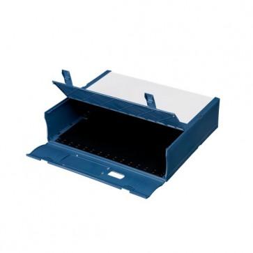 Scatola Archivio Combi Box E600 Fellowes - Dorso 9 mm - rosso - E600RO