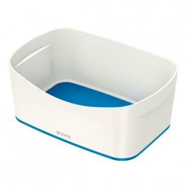 Contenitori Leitz MyBox® Leitz - 24,6x16x9,8 cm - bianco/blu metallizzato - 52571036