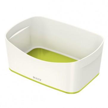 Contenitori Leitz MyBox® Leitz - 24,6x16x9,8 cm - bianco/verde metallizzato - 52571064