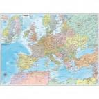 Carta geografica murale Belletti - Europa - 70x91 cm - aste in plastica - M12PP/07