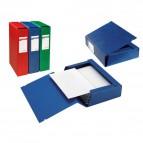 Cartelle portaprogetti Archivio 3L Sei Rota - Dorso 4 - 25x35 cm - rosso - 67304012