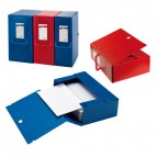 Cartelle portaprogetti Big Sei Rota - Dorso 12 - 25x35 cm - rosso - 68001212