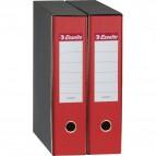 Registratori Eurofile Esselte - Protocollo - dorso 5 - F.to utile 23x33 cm - rosso - 390754160