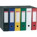 Registratori Eurofile Esselte - Protocollo - dorso 8 - F.to utile 23x33 cm - bianco - 390755040