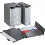 Gruppi di 12 cartelle Delso Line Esselte - Dorso 1,5 - 25x32 cm - bianco/grigio - 390955040