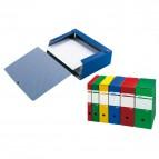 Cartelle portaprogetti Spazio Sei Rota - Dorso 12 - 25x35 cm - blu - 67891207