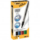 Marcatore Velleda Liquid Ink Pocket Bic - assortito - 4,2 mm - 902094 (conf.4)