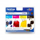 Originale Brother inkjet conf. 4 cartucce 980 - n+c+m+g - LC-980VALBP