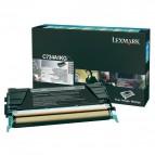 Originale Lexmark laser toner - nero - C734A1KG
