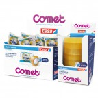 Comet Cellophane - Torre - 19 mm x 66 m - 64160-00004- 64160-00031-02 (conf.8)