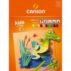 Blocchi da disegno per bambini Canson - 24x32 cm - 185g - colorato - 10ff - C400015601