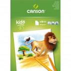 Blocchi da disegno per bambini Canson - A4 - 90g - bianco - 30ff - C400015583