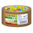 Nastro adesivo PP riciclato al 100% Tesa - nastro riciclato - 50mmx66m - avana - 58154-00000-00